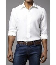 Ever trending blue jeans and white shirt.  #Shirt #Jeans