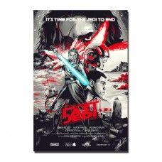 Star Wars Episode VIII The Last Jedi Movie Art Silk Poster 13/'/'x20/'/'32/'/'x48/'/' 02