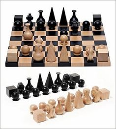 Man Ray Chess Set:
