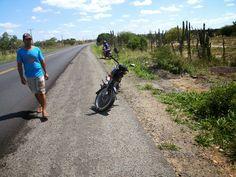 HORA DA VERDADE: URGENTE: Dois homens caem de moto na BR-324 próxim...