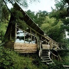 #dreamhome #cabin #wood #secluded #homey
