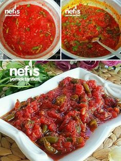 Winter Hot Spicy Sauce – leckere Rezepte – Winter And New Year Turkish Recipes, Ethnic Recipes, Wie Macht Man, Other Recipes, Tart, Chili, Curry, Food And Drink, Beef