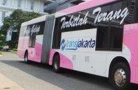 DKI Luncurkan Busway Pink Khusus Perempuan