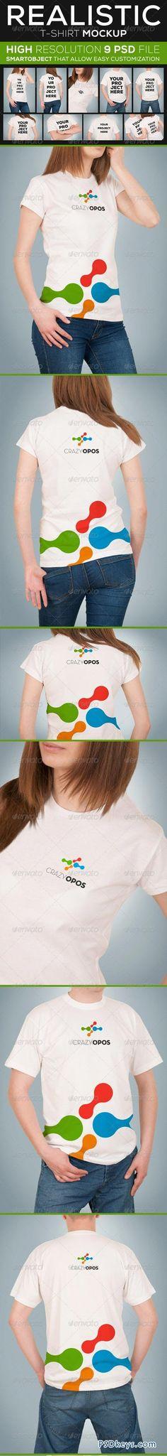 T-shirt Mockup 5909226