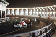 "mclaren-soul: "" Classic tracks - Monaco tunnel through the decades """