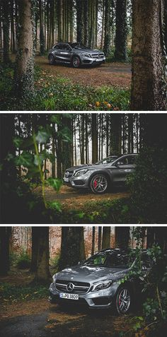 A ride through the forest... #MBsocialcar  Picture by Katie Rowanke