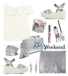 """Weekend"" by rasa-j ❤ liked on Polyvore featuring Paloma Blue, Benefit, Steve Madden, MANGO, Miss Selfridge and Anya Hindmarch"