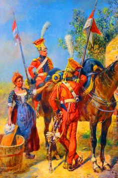 Dutch Red Lancers of Napoleon's Imperial Guards
