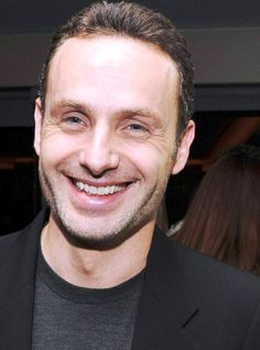 #andrew lincoln #smile #twd #thewalkingdead