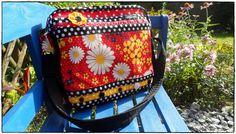 Flowerpower Retro, Messenger Bag, Diaper Bag, Satchel, Vintage, Bags, Fashion, Handbags, Moda