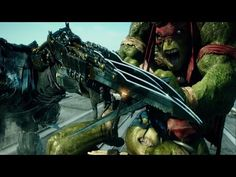 Teenage Mutant Ninja Turtles 2014 - Final Fight - Turtles vs. Shredder - YouTube (one of my favorite parts of the movie!! Especially Raph's speech at the end!! <3)