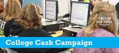 Oregon College Cash Campaign: host a series of events to help seniors pay for college