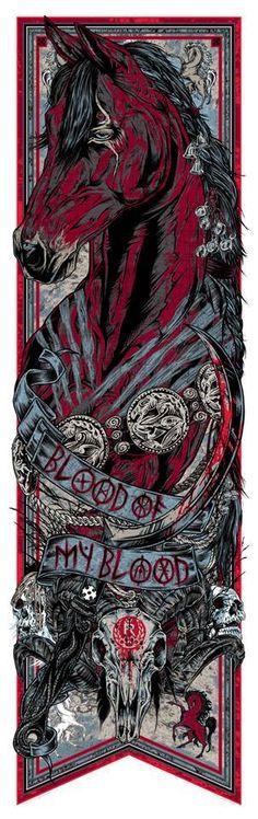 Conheça a incrível série de banner inpisrada em Game of Thrones de Rhys Cooper