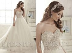 Eternity Bride captures romance and timeless elegance. Couture 2015, Timeless Elegance, One Shoulder Wedding Dress, Romance, Bride, Elegant, Wedding Dresses, Collection, Design