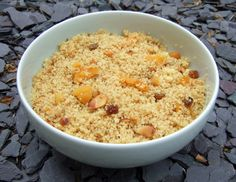 Couscous salad with dried fruits - CookTogether