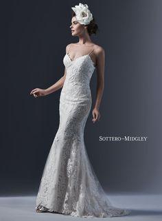 Maggie Sottero Midgley Mattea Sheath Wedding gown