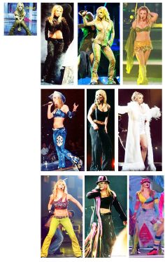 Britney Spears - Dream Within a Dream tour- Favourite tour that i never got to see lol
