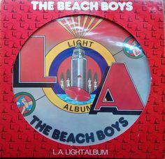 The Beach Boys - L.A. Light Vinyl Record Album - Picture Disc EX/NM 1979