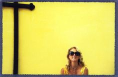 yellow with sunnies