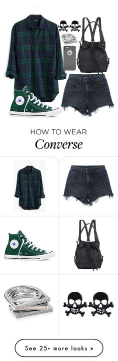 """""""Untitled #676"""" by joslynaurora on Polyvore featuring Madewell, Alexander Wang, Converse, Opening Ceremony, OtterBox, Kendra Scott, women's clothing, women, female and woman"""