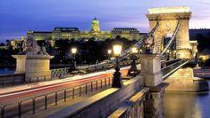 Découverte du pont des Chaînes de Budapest en Hongrie