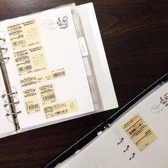別冊あな吉手帳?について書きました。これは収納カテゴリーに挟んであるもの。 #あな吉手帳 http://s.ameblo.jp/aboutanotebook/entry-12041676665.html