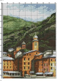 Counted Cross Stitch Patterns, Big Ben, Building A House, Travel, Outdoor, Ships, Projects, Frames, Paisajes