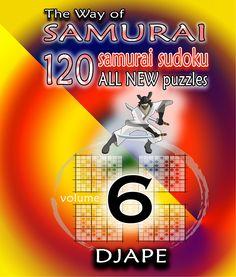 The Way of Samurai Sudoku, volume 6    $11.99      http://www.amazon.com/dp/1480064874?tag=thehomeofperf-20