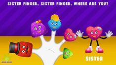 The Finger Family Jelly Family Nursery Rhyme Baby Finger Song, Sister Finger, Finger Family Song, Family Songs, Nursery Rhymes, Jelly, Daddy, Youtube, Collection