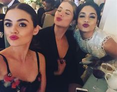 Lucy Hale, Ashley Benson and Vanessa Hudgens