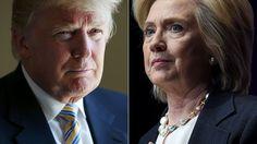 awesome  Clinton y Trump favoritos en las primarias de hoy