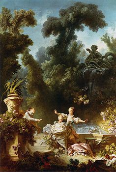 """The Pursuit,"" Fragonard."