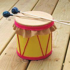 Realiza un tambor reciclando una lata - Las Manualidades