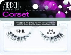 Ardell 503 BLACK Enhance your eyes with criss-cross lashes similar to corset lacing! Ardell Eyelashes, False Eyelashes, Corset, Beauty Makeup, Eye Makeup, Individual Lashes, Long Lashes, Black Lashes, Dramatic Look