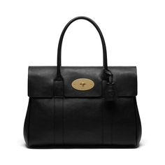 Mulberry | Basewater black natural leather
