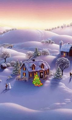 via GIPHY Images Noêl Vintages, Christmas Christmas Art, Christmas Events, Christmas Holidays Christmas Scenery, Winter Scenery, Noel Christmas, Christmas Images, Winter Christmas, Christmas Events, Christmas 2019, Christmas Cards, Christmas Decorations