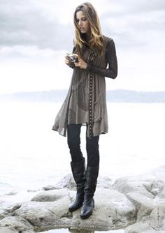 Zorb Tunic - Cartier Sleeveless Coat - Kimbell Slim Leg Pant all by Verge
