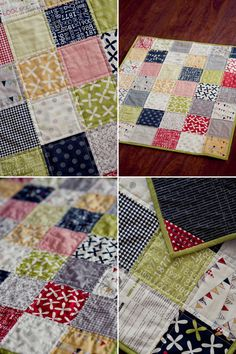 I am flipping for this fabric collection! | Sweetwater Reunion charm pack quilt by realphotography
