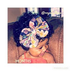 Wow 5 months has came so fast... Stop growing already... Happy and sad at the same time... #5monthsold  Lol #babygirl #babylove #frobabies  #happybaby #justbaby #igbaby #kiddycurls #natuallycutekids #BCOTWIG #myhaircrushkids #naturalhair #blacktrendykids #naturallyperfectkids #kiddycurls #cutekidsgotswag_  #babyigmodel #hairaccessories  #fashionbeautykids #viral #followme #beautifulbabies #doubletap #picoftheday #dailypost #protectivestyles #babybonnet #haircare #cute #lashes
