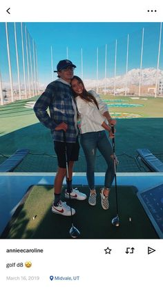 top golf is on my bucket list Cute Couples Photos, Cute Couple Pictures, Cute Couples Goals, Golf Pictures, Couple Goals, Couple Pics, Boyfriend Pictures, Boyfriend Goals, Future Boyfriend
