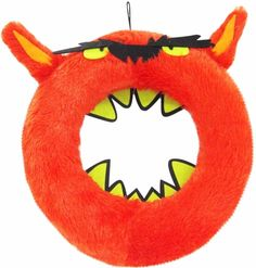 Spooky Mad Lab Durable Monster Fur Wreath Brightly Colored Halloween Hang Decor  #FurWreath #Wreath #Spooky #MadLab #DurableMonster #Durable #Monster #BrightlyColored #HalloweenHangDecor #HangDecor #Halloween #Decor