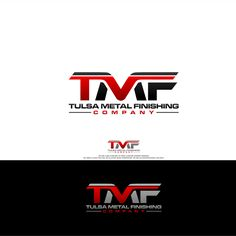 Tulsa Metal Finishing Company - TMF Logo We are a company so need a mature internet presence but need a logo that will set us apart from competitors. Typography Logo, Font Logo, Geometric Logo, Personal Logo, Creative Logo, Logo Design Contest, Chevrolet Logo, It Is Finished, Mood