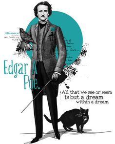 "Edgar Allan Poe"" (498×623)"