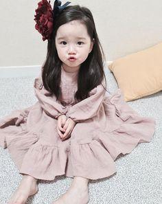 Cute Asian Babies, Korean Babies, Asian Kids, Cute Babies, Most Beautiful People, Beautiful Children, Beautiful Babies, Cute Baby Girl Images, Ulzzang Kids