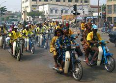 Benin Republic: A Trip to Cotonou West African Countries, Countries Of The World, Cotonou Benin, Taxi Moto, Paises Da Africa, Travel Reviews, Travel Alone, The Republic, Africa Travel