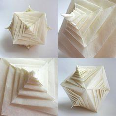 Spiral faced cube (Tomoko Fuse)