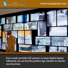 From #small, #portable #LED systems, to large #digitaldisplay #billboards, we can find the #perfect sign #solution to #elevate your #business. #TucanaGlobalTechnology #Manufacturer #HongKong