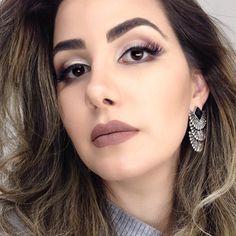 Boa noite minhas maravilhosas 😍😍❤️❤️ Make básica que eu AMO!! Tem tutorial dela no canal 😍 #blogdaleticia #maquiagem #makeup