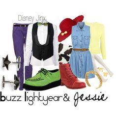 Buzz Lightyear and Jessie Dapper Day Style