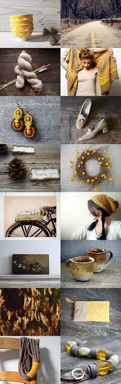 rustic autumn #etsytreasury by Barbara